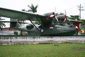 Catalina RI 005: Plane used to assist Indonesia during its struggle for Independence.