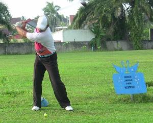 Golfing in Jambi