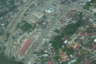 Center of the City of Muara Bungo.(Pasar Muara Bungo)