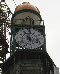 There is a clock on all 4 sides of the tower.
