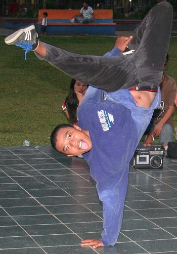 Member of the JBD Squad in Muara Bungo