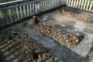 The Graves of Pakubuwono III &His Wife, and a Third Unknown Grave.