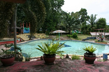 The children's pool at Taman Wisata Indah Lestari Talang Kawo.